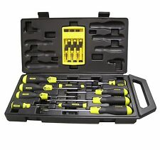 Stanley 16pce Screwdriver Set Cushion Grip # 65-005a