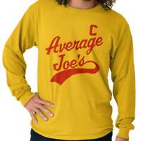 Average Joes Gym Athletic Funny Comedy Movie Long Sleeve Tees Shirts T-Shirts