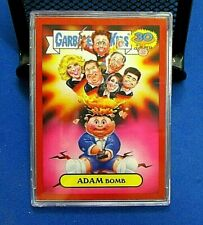 Garbage Pail Kids 30th ANNIVERSARY 2015 RED PARALLEL  ADAM BOMB 2A IN CASE