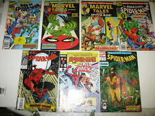 Lot of 7 Marvel Comics Amazing Spider-Man Marvel Tales etc Comics Comic Books