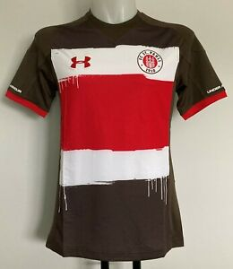 ST PAULI S/S HOME SHIRT BY UNDER ARMOUR SIZE MEN'S SMALL BRAND NEW WITH TAGS