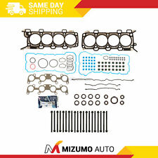 Head Gasket Set 11mm Head Bolts Fit 11-14 Ford F-150 Mustang GT 5.0 DOHC VIN F