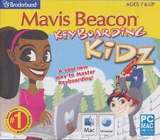 Mavis Beacon Keyboarding Kidz - Typing for Kids - Windows XP,7,8 & Mac 10.5 NEW!