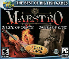 Maestro: Music of Death/Maestro: Notes of Life Hidden Object PC Games