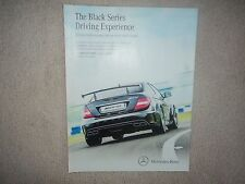 Mercedes Benz  C63 AMG Coupe Black Series - Advertisement  -  2012