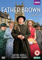 Father Brown: Series 4 DVD (2016) Mark Williams cert 12 3 discs ***NEW***