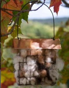 Alpaca Bird Nesting Material Kit Bag - 100% Alpaca Wool for Nesting Birds