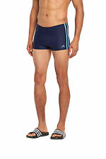 adidas Men's Striped Swimwear Swim Shorts
