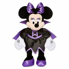 Minnie Mouse Vampire Costume Plush Collection Purple Black Stuffed Rare HTF
