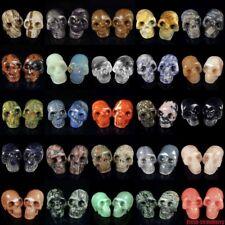 Similar tallado cráneo Humano Esqueleto Estatua Piedra Tallado Cristal curativo