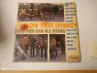 Brother Dan All Stars – Follow That Donkey - Vinyl LP 1969