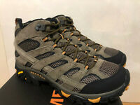 NEW MERRELL MOAB 2 VENT MID HIKING SHOES BOOTS 8-13 LEATHER MENS WALNUT