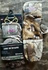 L/XL M Woman's Pop Top REALTREE XTRA Glomitts Gloves Camo Winter Scent Control