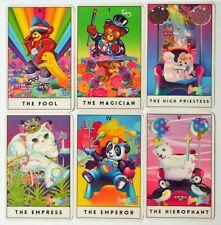 Lisa Frank - 22 Tarot Cards (22 Major Arcana) - Compact deck