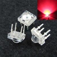 S390 - 20 Stück LED 5mm rot SuperFlux Piranha 120° LEDs