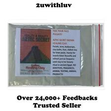AZTEC SECRET INDIAN HEALING CLAY SAMPLE TRIAL PACK 100G - MOST POWERFUL FACIAL