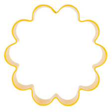 Wilton Yellow Flower Metal Cutter Cookie Biscuit Fondant Party Cake Decoation