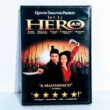 Hero Dvd, Jet Li, Tony Chiu-Wai Leung, Maggie Cheung, Ziyi Zhang, Donnie Yen