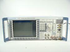 Rohde & Schwarz CMU200 Radio Communication Tester Spectrum Analyzer BLUETOOTH!