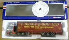 Corgi 75408 Leyland DAF 85 Curtainside T. Brady & Son Ltd Ed. No. 0003 of 2600