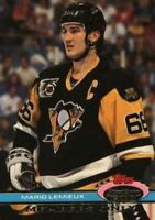 1991 Stadium Club Members Only #NNO Mario Lemieux 3rd Ross Trophy Penguins