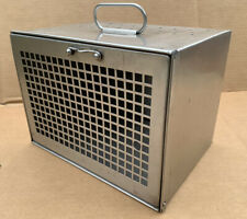 Stainless Steel Rabbit Rodent Veterinary Travel Cage Container