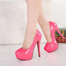 Men's Pumps Platform Drag Queen Pink Crossdresser High Heels Women Shoes Plus Sz