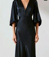 Shona joy bias midi dress navy