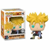 "EXCLUSIVE DRAGON BALL SUPER SAIYAN FUTURE TRUCKS 3.75"" POP VINYL FIGURE FUNKO"