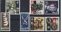 Malta 1965 400th Anniversary of Great Siege SG.352/358 Mint (MNH) SEE SCAN.