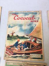 Rare Cadbury's Cococub News Magazine No 21 Feb 1938