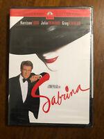 Sabrina 1995 version (DVD) Harrison Ford and Julia Ormond NEW
