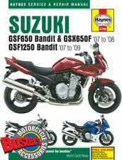 Genuine Haynes Workshop Manual 4798 Suzuki GSF650 GSF1250 Bandit 2007-2009