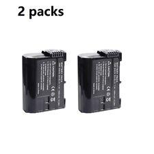 2X EN-EL15B ENEL15b Battery For Nikon Camera D7100 D7000 D800 D810 D750 Z7 Z6 V1