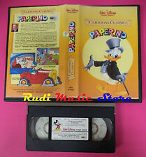 VHS film PAPERINO Cartoons classici 1984 WALT DISNEY VI 4082 (F35**) no dvd