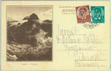 86883 - YUGOSLAVIA - POSTAL HISTORY -  Picture STATIONERY CARD 1938 Mountains