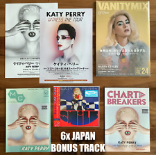 6x JAPAN BONUS TRACKS + FLYERS + MAGS SENT FROM BERLIN! KATY PERRY SMILE CD 2020