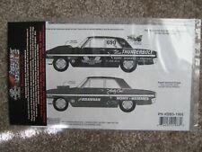 Slixx Dick Brannan-Romy Hammes 64 Ford-Thunderbolt Drag decal kit Pn #Db3-198