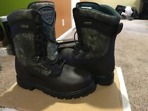 Men's Size 10 W LaCrosse Timbermaster Hyper Dri 800 gram insulated hunting boots