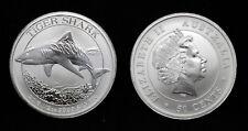 2016 1/2 oz Australia Silver Tiger Shark Coin RARE and COOL!
