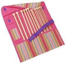 "Clover Getaway Takumi Bamboo Single Point Knitting Needle Gift Set 13"" To 14"""