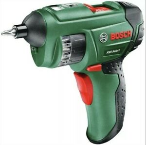 Bosch  PSR Select 3.6V Cordless Screwdriver With Battery And Case