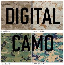 Digital Camouflage Stencil Set Reusable DIY Digicam Camo Spray Paint Airbrush