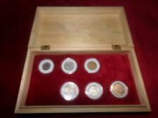 Pieces francaises 5 pièces 1964 semeuse  et 1 de 1965