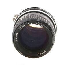 Nikon Nikkor 85mm F/2 AI Manual Focus Lens {52}, Made in Japan - UG