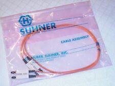 48 Inch SC-SC Fiber Optic Cable Duplex M/M SC to SC NEW!