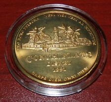 WALT DISNEY VACATION CLUB CONCH FLATS 1991 COIN DISNEY WORLD 20TH ANNIVERSARY