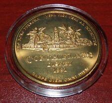 WALT DISNEY VACATION CLUB CONCH FLATS 1991 COIN DISNEY WORLD 20TH ANNIVERSARY