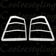 Fit 2005 06 07 08 09 2010 JEEP GRAND CHEROKEE TAIL LIGHT lamp Chrome Covers