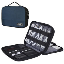 Electronics Organizer Travel Cable Bag Accessories Gadget Gear Case for 9.7 iPad